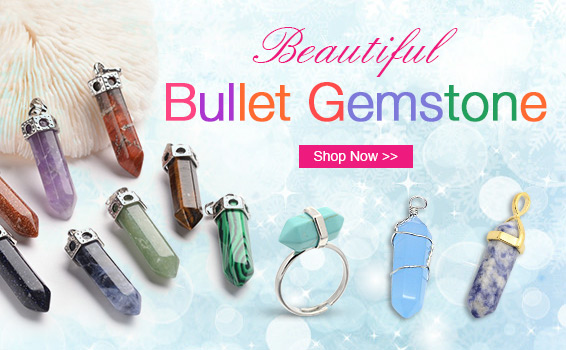Beautiful Bullet Gemstone