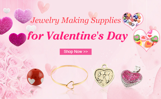 Jewelry Making Supplies for Valentine's Day