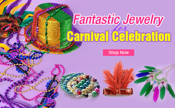 Fantastic Jewelry for Carnival Celebration