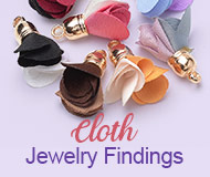 Cloth Jewelry Findings