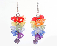 Flower Acrylic Earrings