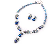 Glass Beaded Jewelry Sets