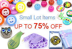 Small Lot Items - Save Up to 75% OFF