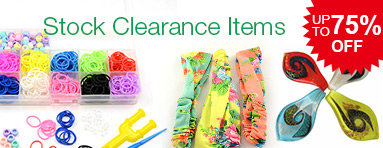Stock Clearance Items  - Save Up to 75