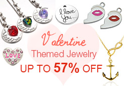 Valentine Themed Jewelry - Save Up to 57% OFF