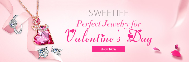 Perfect Jewelry for Valentine's Day