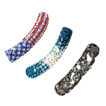 Perles Tube Strass