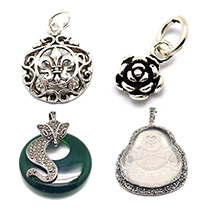 Thai Sterling Silver Pendants