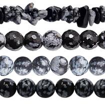 Schneeflocken Obsidian