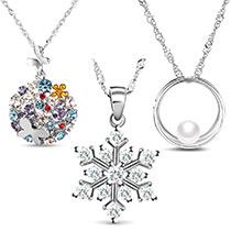 Sterling Silber Halsketten