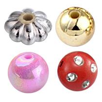 Acrylic Beads-Plating