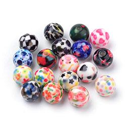Perles Acryliques Imprimées