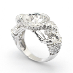Sterling Silver Ring Settings