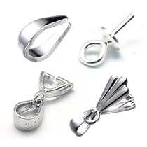 Sterling Silver Pendant Bails
