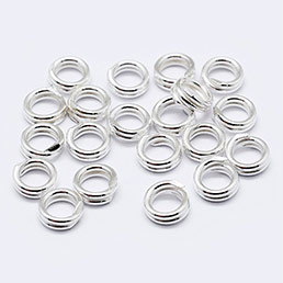 Jump Rings Argento Puro