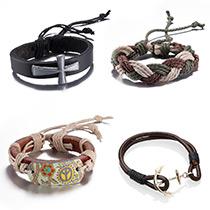 Kordel Armbänder