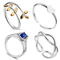 Sterling Silber Ringe