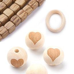 Wood & Nut Beads