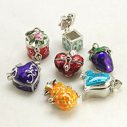 Prayer Box Pendants