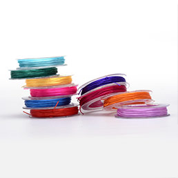 Elastic Crystal String