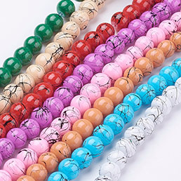 Drawbench Glass Beads
