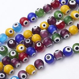 Evil Eye Lampwork Beads