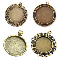 Supports Cabochons Pendentifs